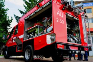 Новий пожежний автомобіль для Закарпаття