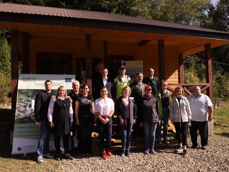 Урочисто відкрито інформаційно-екологічний пункт в урочищі «Дубравка» в м. Сколе