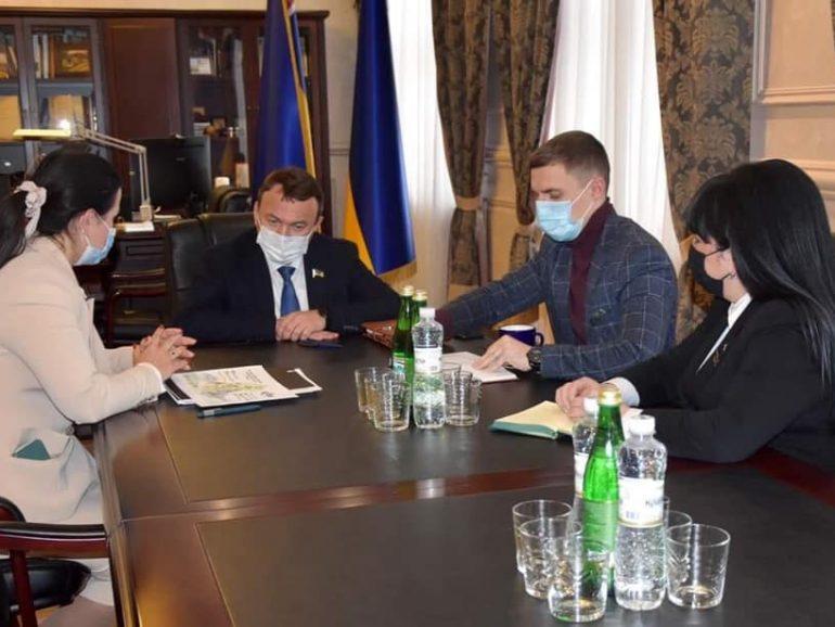 Обговорили напрямки взаємодії Асоціації та Закарпатської обласної ради у 2021 році