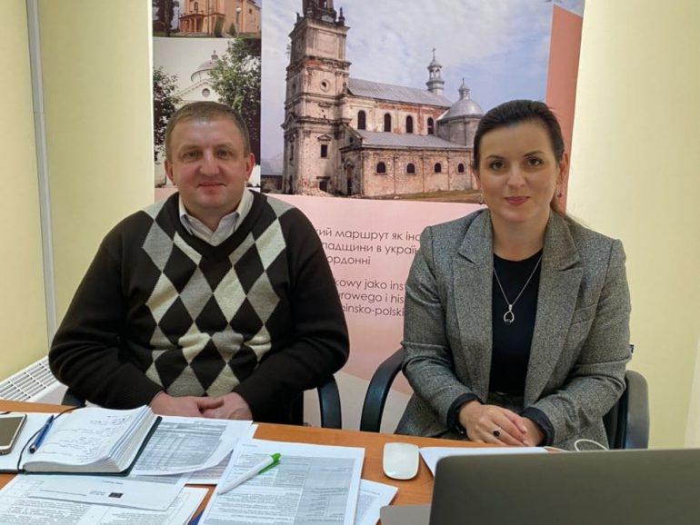 Засідання наглядового комітету проєкту «Транскордонний паломницький маршрут як інструмент промоції спільної історико-культурної спадщини в українсько-польському прикордонні»