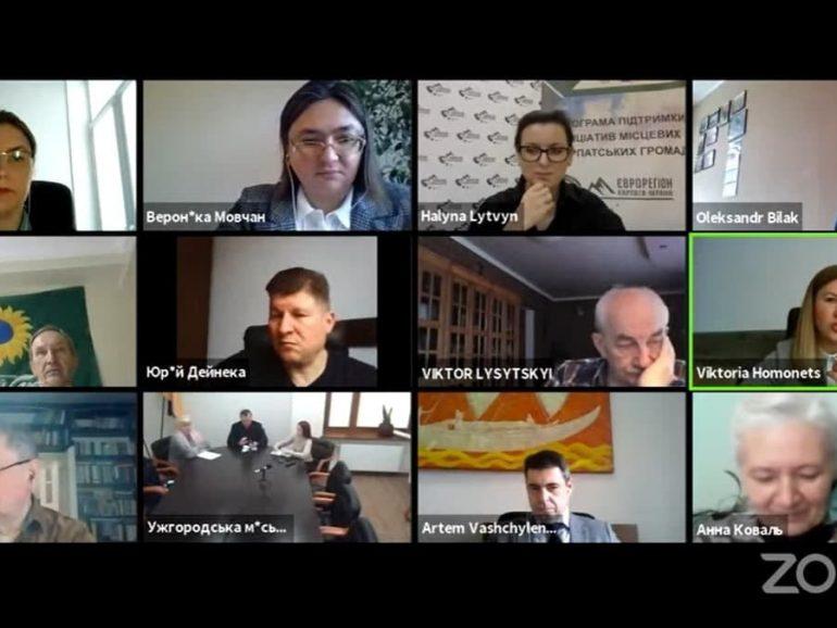Онлайн-дискусія про виклики транскордонної співпраці , які надихають до змін