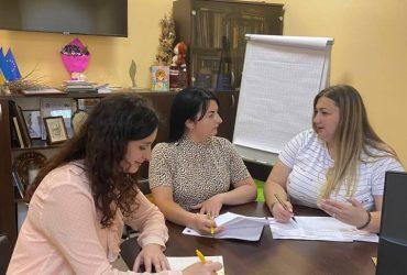 Відбулась робоча зустріч з заступницею Голови правління Асоціації Мирославою Ливч