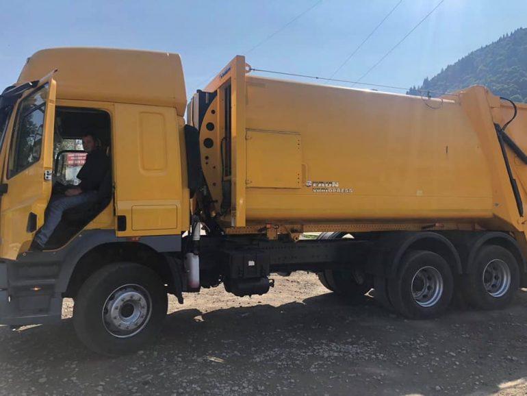 Колочавська громада придбала сміттєвоз в рамках проєкту, підготовленого разом з командою Асоціації