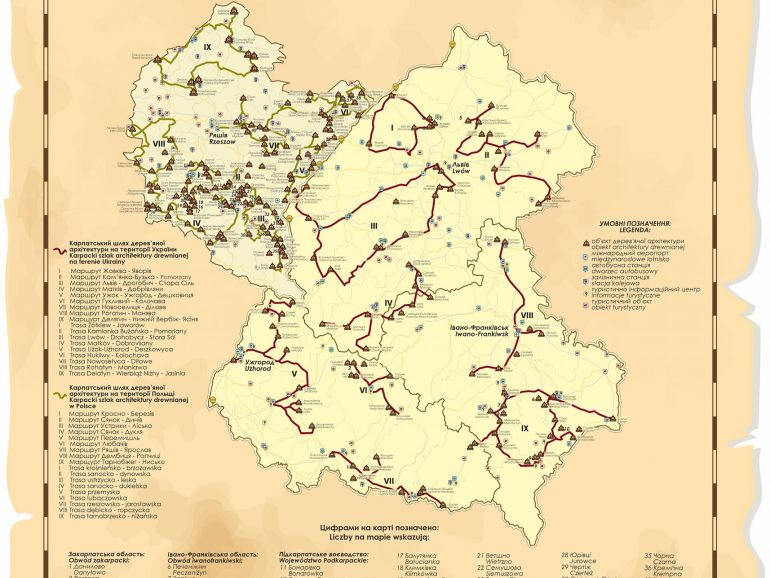 Презентували новостворений туристичний маршрут, що відкриває красу сакральної спадщини Карпат