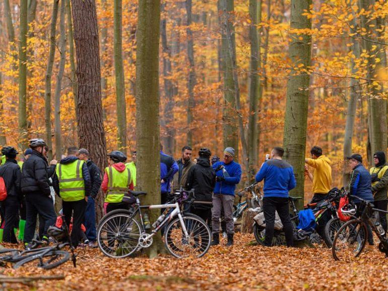 Понад півсотні любителів активного відпочинку взяли участь у велоподорожі до Крехівського монастиря